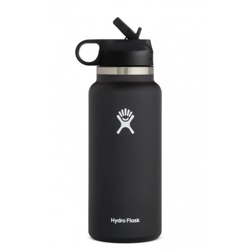 HYDROFLASK 32oz Wide Mouth w/Straw Lid