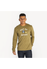Life is Good Men's Longsleeve Crusher Tee