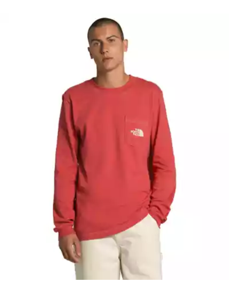 North Face Men's Long Sleeve Carabiner Tee