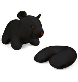 Kikkerland Zip & Flip BLACK BEAR