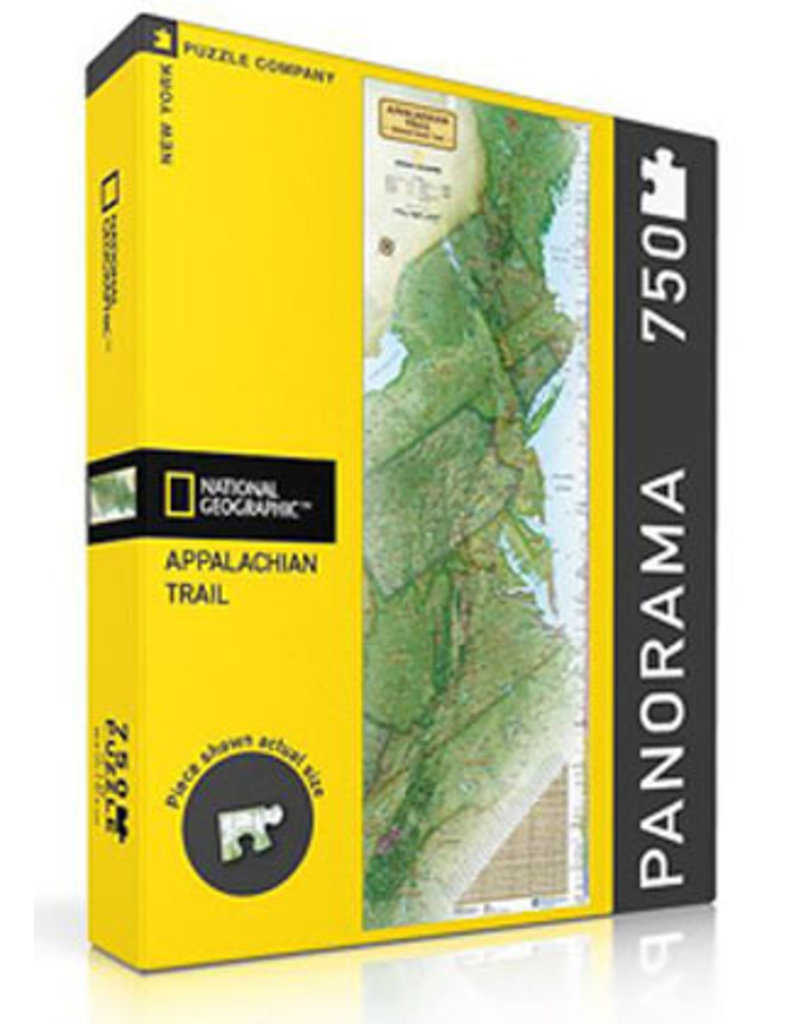 Appalachian Trail Conservancy Appalachian Trail Poster Map Puzzle