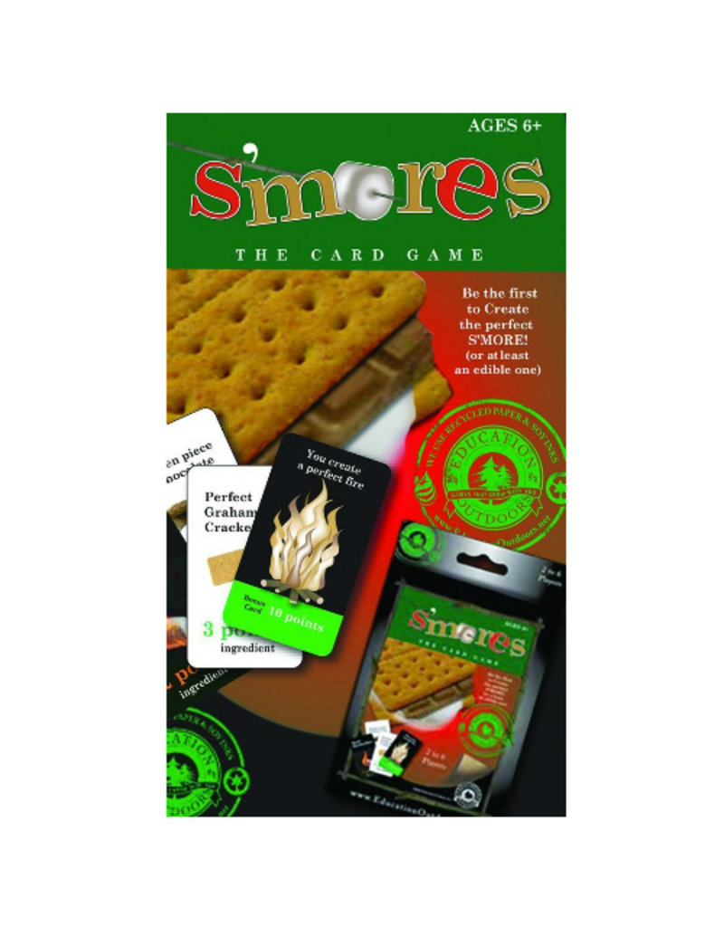Education Outdoors S'MORES The Card Game
