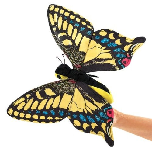 Folkmanis Swallowtail Butterfly Hand Puppet