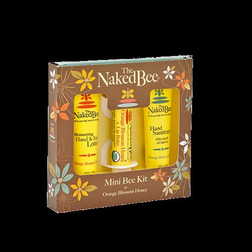 Naked Bee Naked Bee Mini Bee Kit ORANGE BLOSSOM