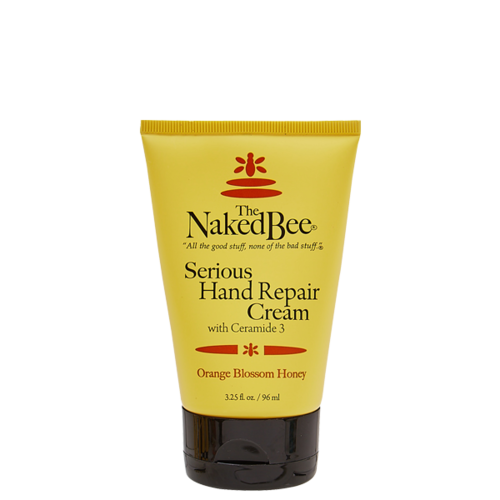 Naked Bee Serious Hand Repair Cream Orange Blossom 3.25 oz