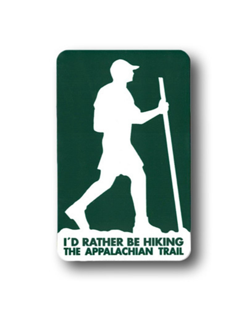 Appalachian Trail Conservancy Magnet I'd Rather Be Hiking The Appalachian Trail