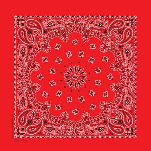 Carolina Creative Products Traditional Paisley Bandana