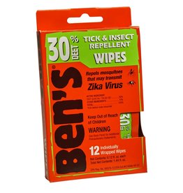 Adventure Medical Bens 30% Wipes