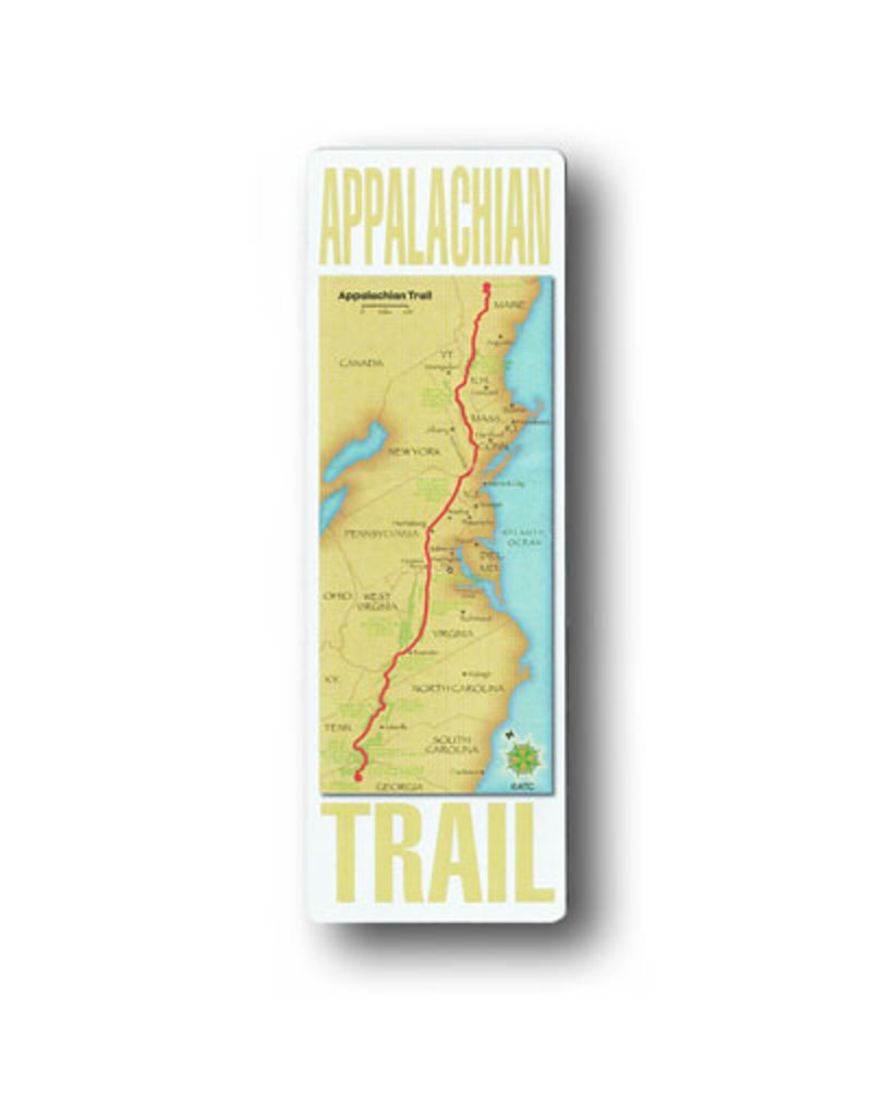 Appalachian Trail Conservancy AT Map on a Blaze Magnet