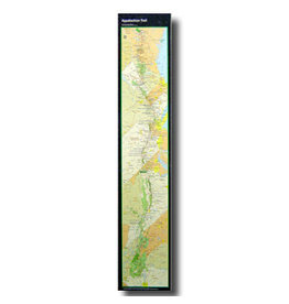 MOUNTAINEERS BOOKS AT Map Strip Poster
