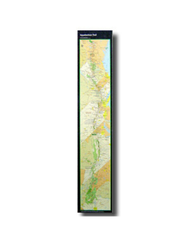 Appalachian Trail Conservancy AT Map Strip Poster