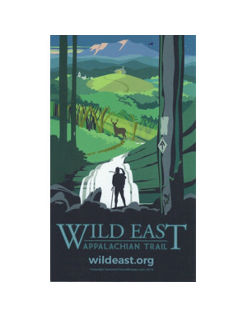 Appalachian Trail Conservancy Wild East Magnet