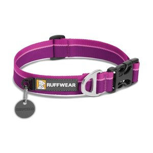 Ruffwear Solid Stripe Hoopie Dog Collar