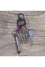 Nite Ize Black Key Rack+ S-Biner