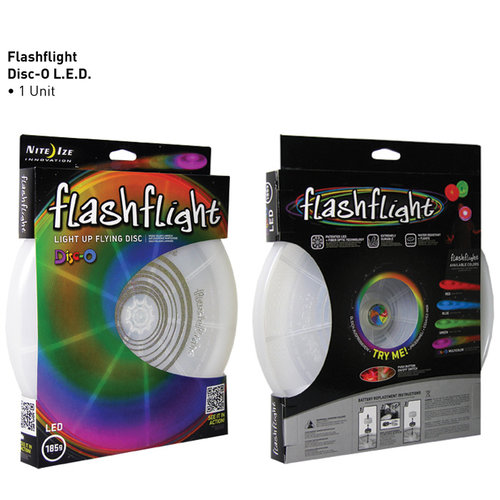 Nite Ize Flashflight® Light Up Flying Disc Disc-O