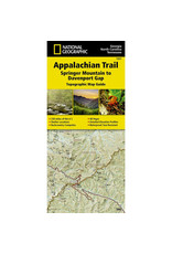 National Geographic Maps 1501 :: Appalachian Trail: Springer Mountain to Davenport Gap Map [Georgia, North Carolina, Tennessee]