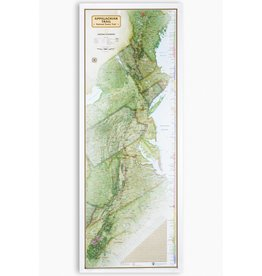 National Geographic Maps Appalachian Trail Wall Map