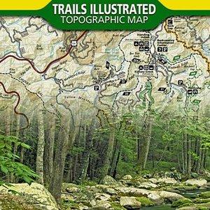 National Geographic Maps 785 :: Nantahala and Cullasaja Gorges Map [Nantahala National Forest]