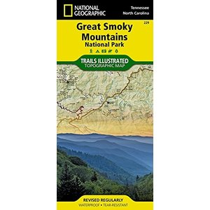 National Geographic Maps 229 :: Great Smoky Mountains National Park Map