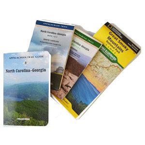 MOUNTAINEERS BOOKS North Carolina/Georgia AT Guidebook & Map Set