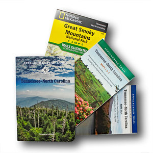 MOUNTAINEERS BOOKS Tennessee/North Carolina Guidebook & Map Set