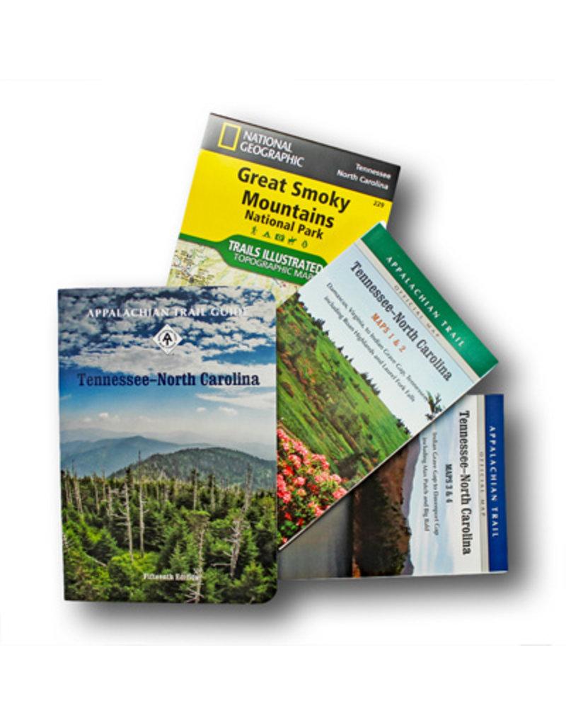 Appalachian Trail Conservancy Tennessee/North Carolina Guidebook & Map Set