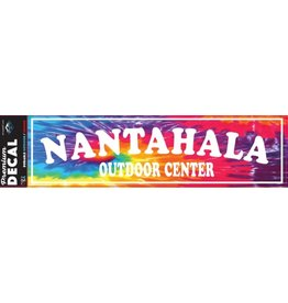 NOC Nantahala Outdoor Center Tie Dye Sticker