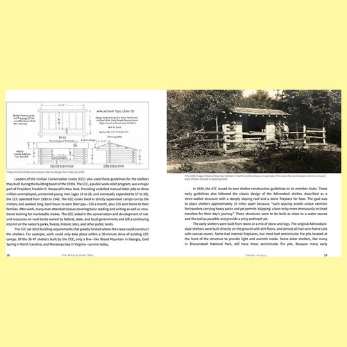 Random House Appalachian Trail: Backcountry Shelters, Lean-Tos , and Huts