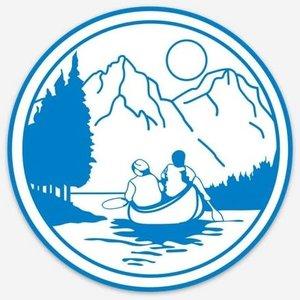 NOC NOC Original Logo Stickers