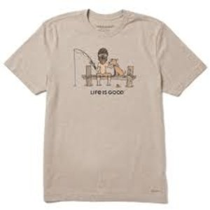 Life is Good Men's Crusher Tee