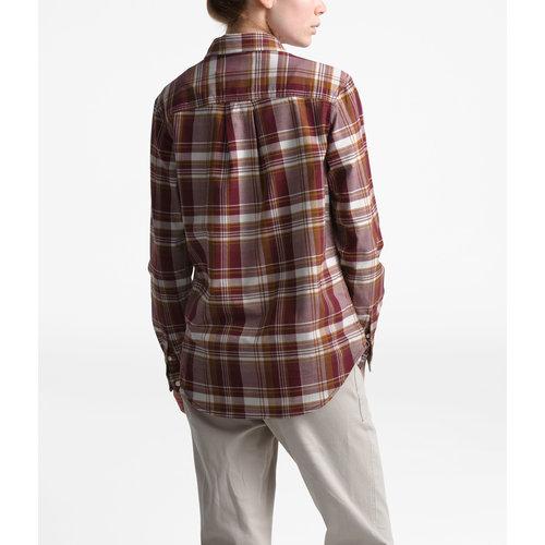 North Face Women's Long Sleeve Boyfriend Shirt
