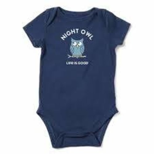 Life is Good Crusher Baby Bodysuit