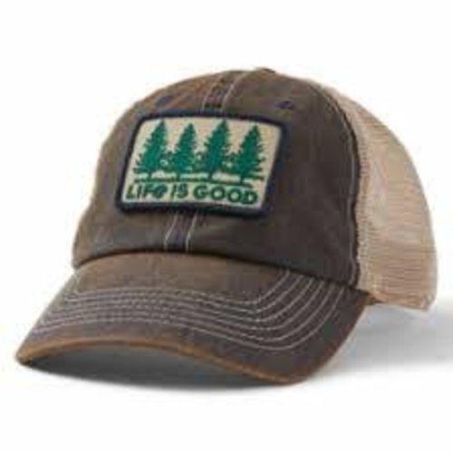 Life is Good Old Favorite Mesh Back Hat