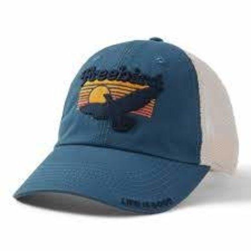 Life is Good Soft Mesh Back Hat
