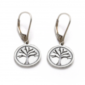 Tarma Tree Of Life Earring  Sterling Silver