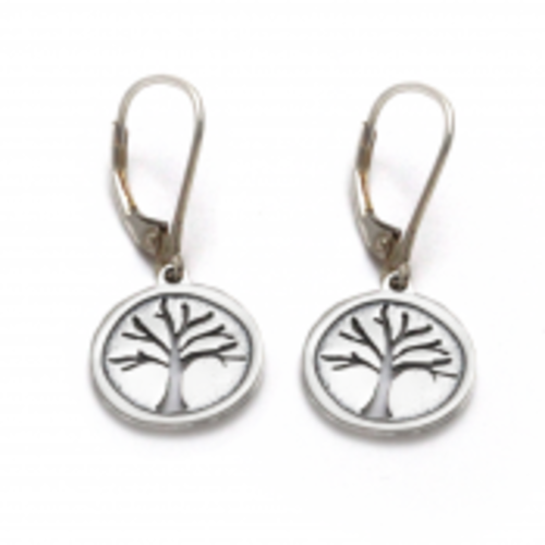 Tree Of Life Earring  Sterling Silver