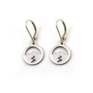 Tarma Mountain Spirit Earring  Sterling Silver
