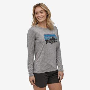 Patagonia Women's Long Sleeve Capilene Cool Daily Graphic Shirt