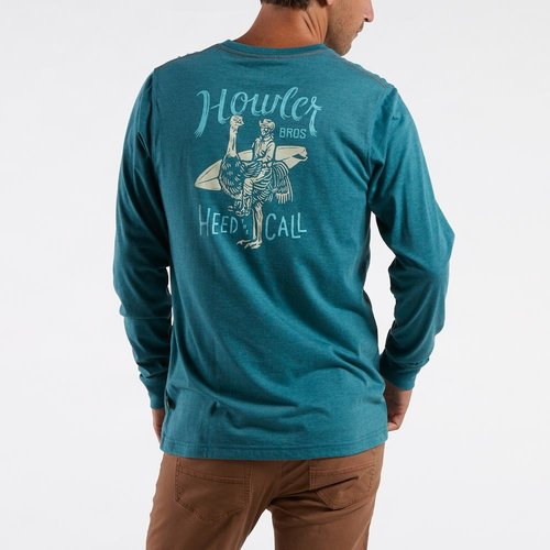 Howler Brothers Men's Rodeo Ostrich Longsleeve T
