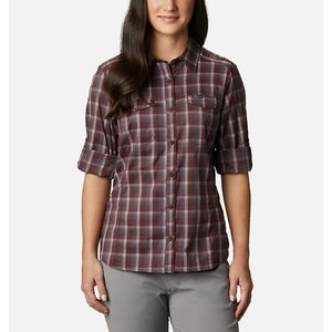 Columbia Women's Silver Ridge Lite Plaid LS Shirt