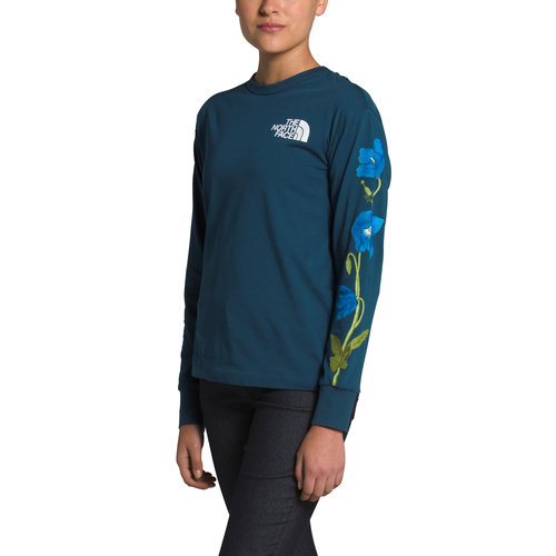North Face Women's Long Sleeve Himalayan Bottle Source Tee