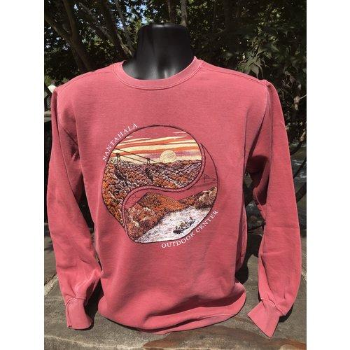 NOC Zip Nantahala Yin Yang Crewneck Sweatshirt