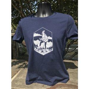 NOC Hiker Gal & AT Map Short Sleeve Women's Cut Tee