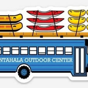 NOC Blue Bus sticker