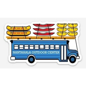 NOC Blue Bus sticker
