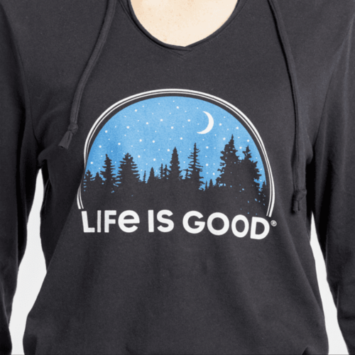Life is Good Women's Long Sleeve Hoody Tee
