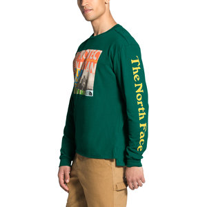 North Face Men's Long Sleeve Rogue Graphic Tee