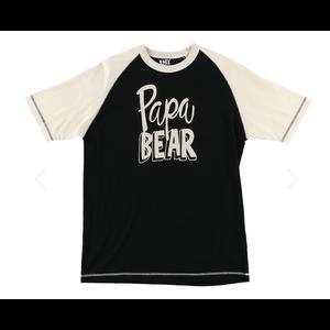 Papa Bear Short Sleeve PJ Tee