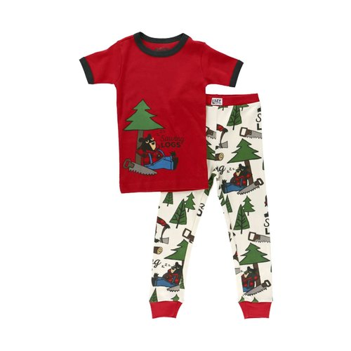 Sawing Logs Kid's PJ Set