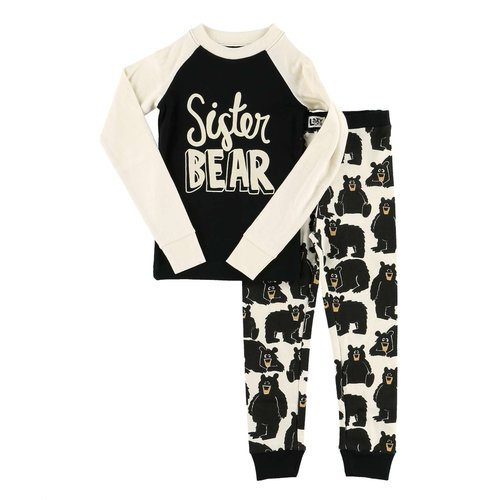 Sister Bear Kid's PJ Set
